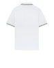 22S18 Stretch Cotton Pique Polo Shirt in White
