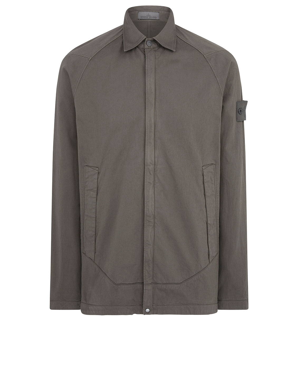 116F4 Overshirt in Smoky Grey