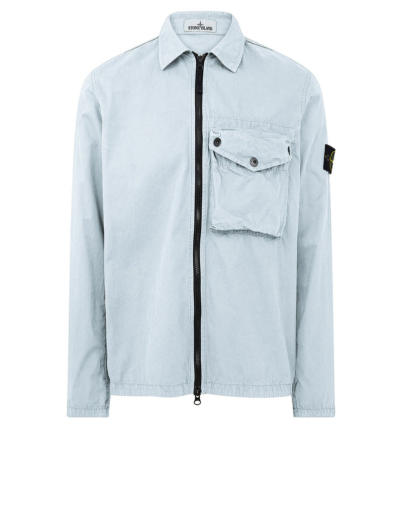 117Wn T.CO+OLD Overshirt in Sky Blue
