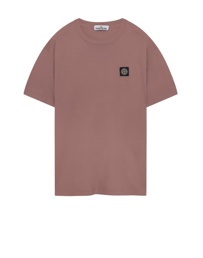 24113 Garment Dyed Cotton Jersey T-Shirt in Rose Quartz