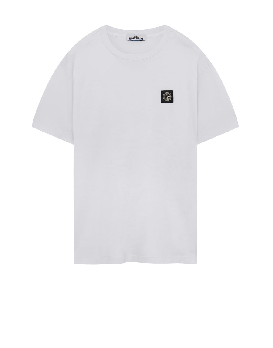 24113 Garment Dyed Cotton Jersey T-Shirt in White