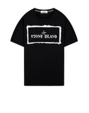 2Ns80 'STENCIL ONE' T-Shirt in Black