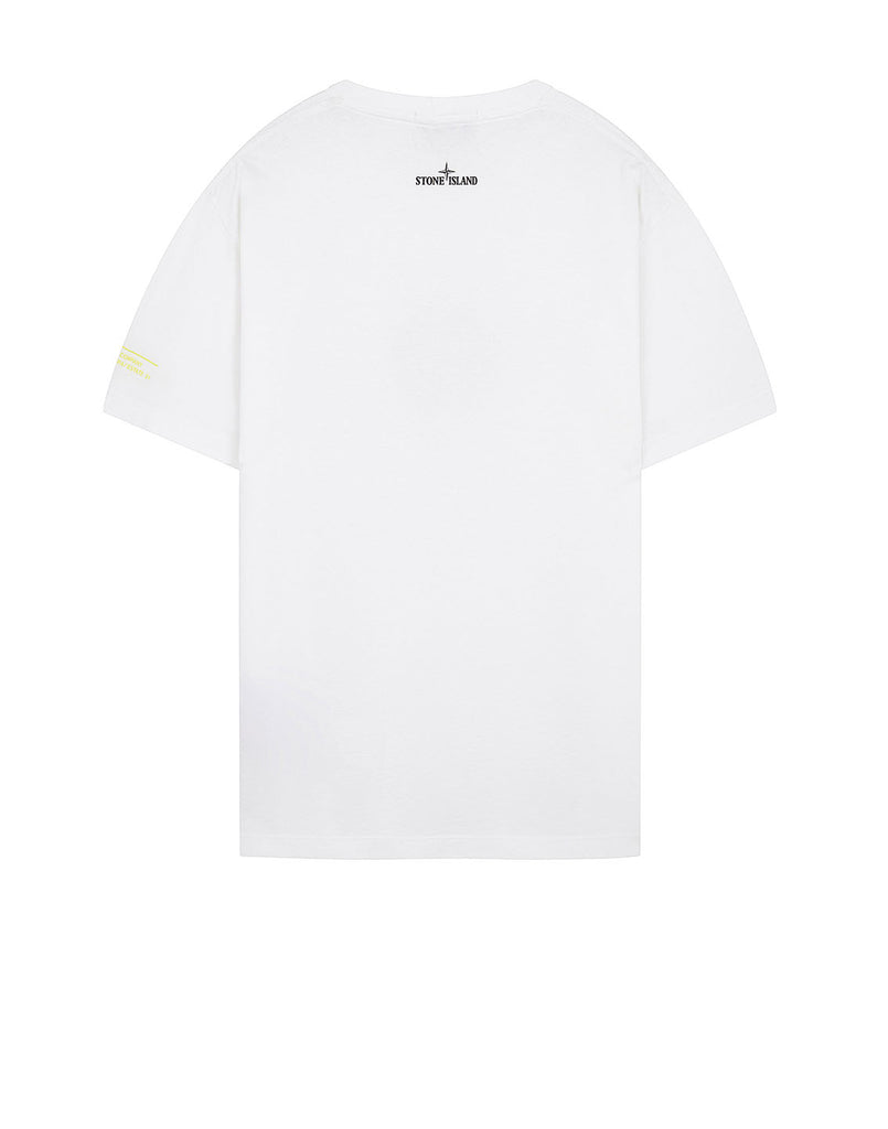 2NS83 'MARBLE ONE' T-Shirt in White