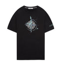 2NS83 'MARBLE ONE' T-Shirt in Black