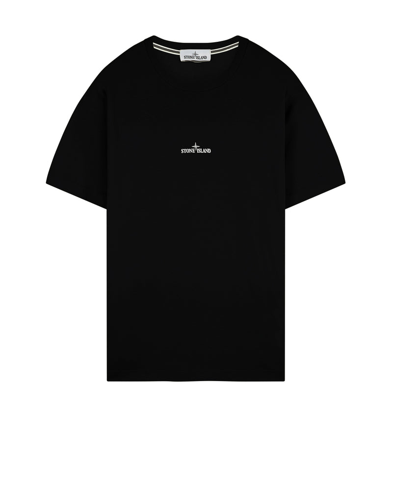 2NS85 'MARBLE THREE' T-Shirt in Black