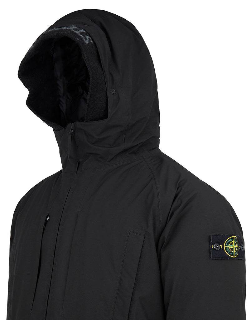 40230 Gore-Tex® Ripstop Down Jacket in Black