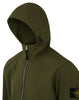 40727 Light Soft Shell-R Hooded Jacket in Olive