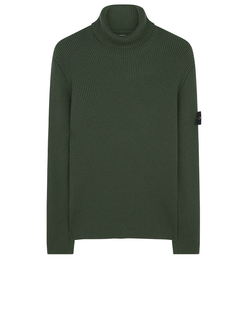 522C2 Turtleneck Jumper in Dark Forest