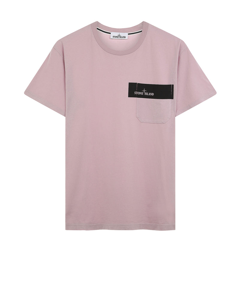 24285 Pocket T-Shirt in Pink