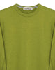 65360 Washed Crew Sweatshirt in Green