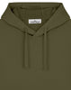 64151 Hooded Sweatshirt in Olive Green