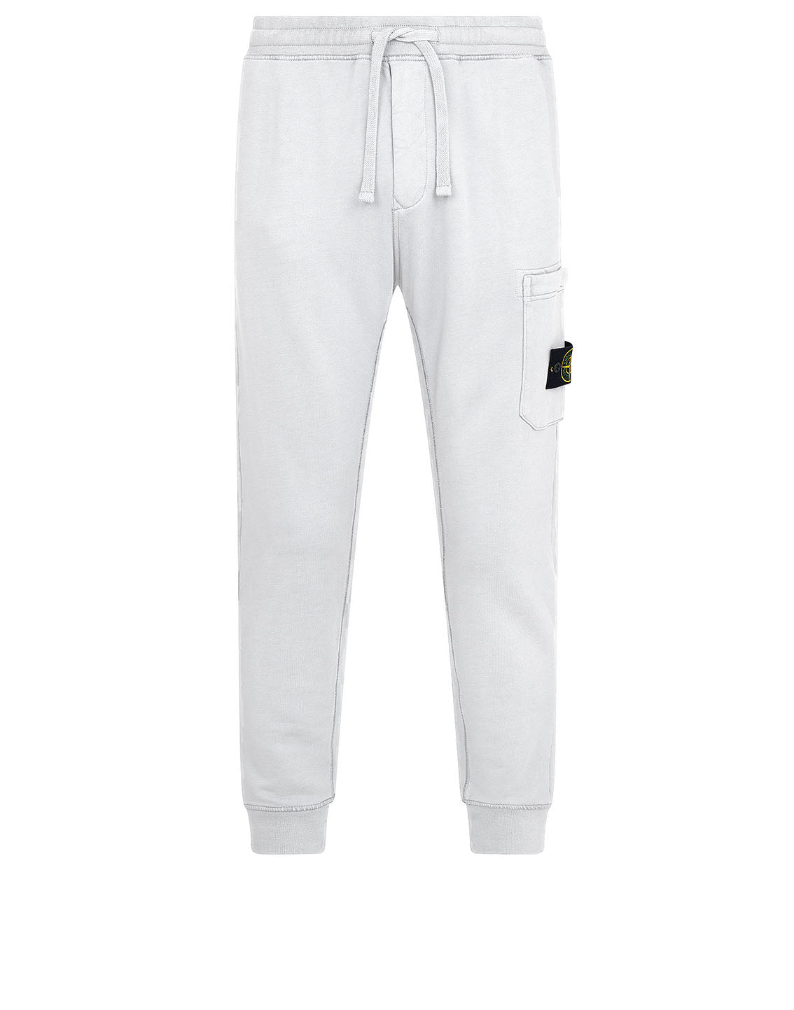 64551 Fleece Pants in White