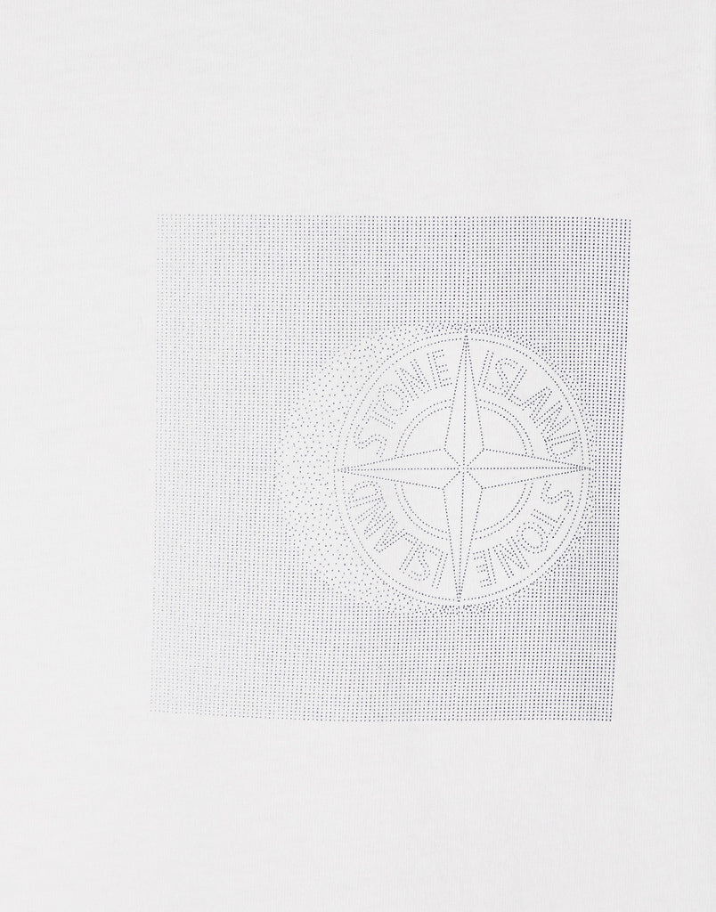 20187 'DOT COMPASS' T-Shirt in White