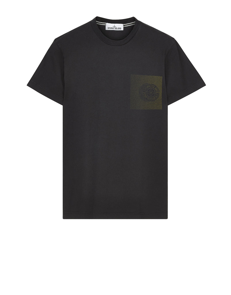 20187 'DOT COMPASS' T-Shirt in Black