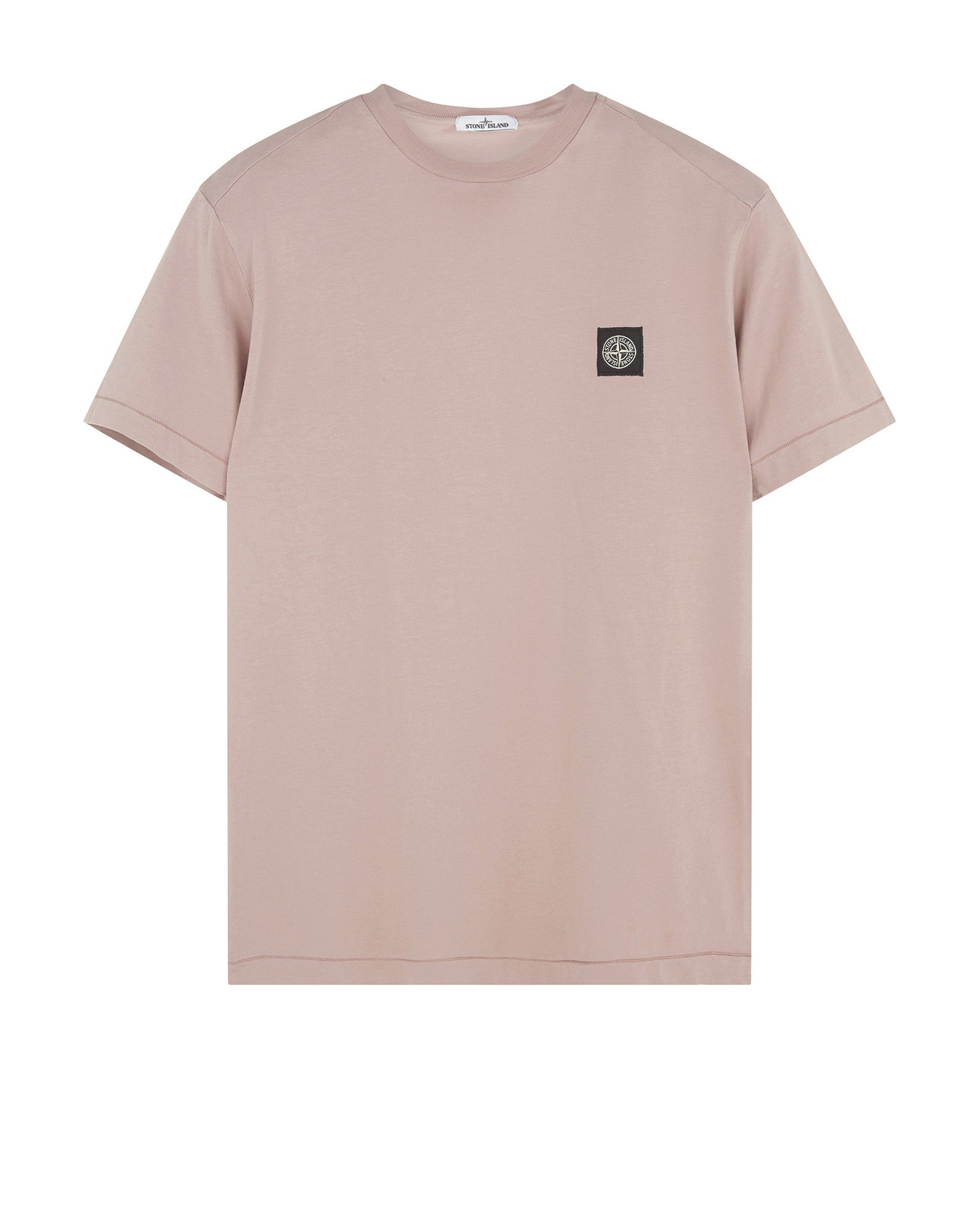 24141 Small Logo Patch T-Shirt in Light Red