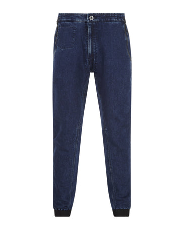 30334 POLYPROPYLENE DENIM Trousers in Blue