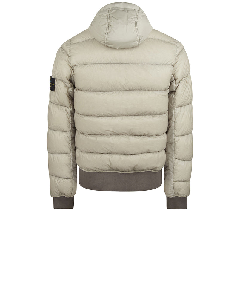 41624 GARMENT DYED DOWN 26GR X SQM-NY Jacket in White