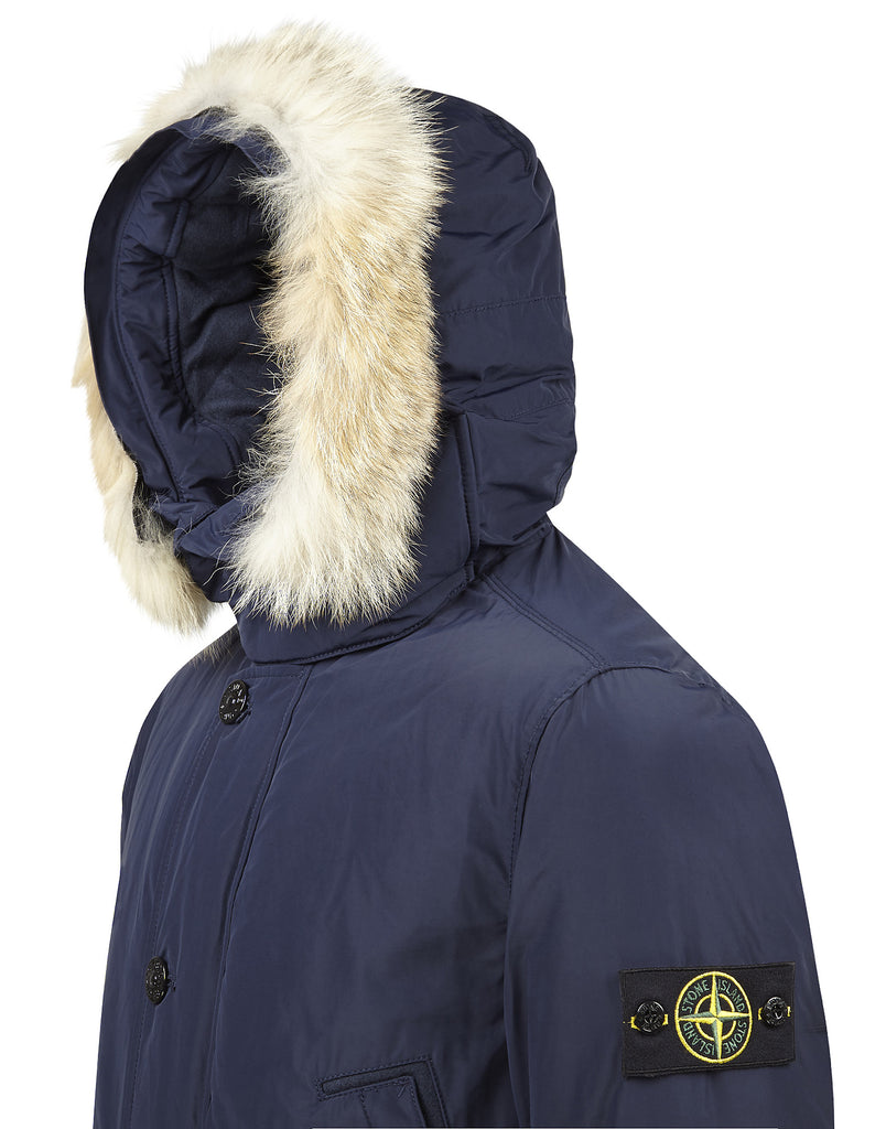 41926 MICRO REPS DOWN Parka in Blue