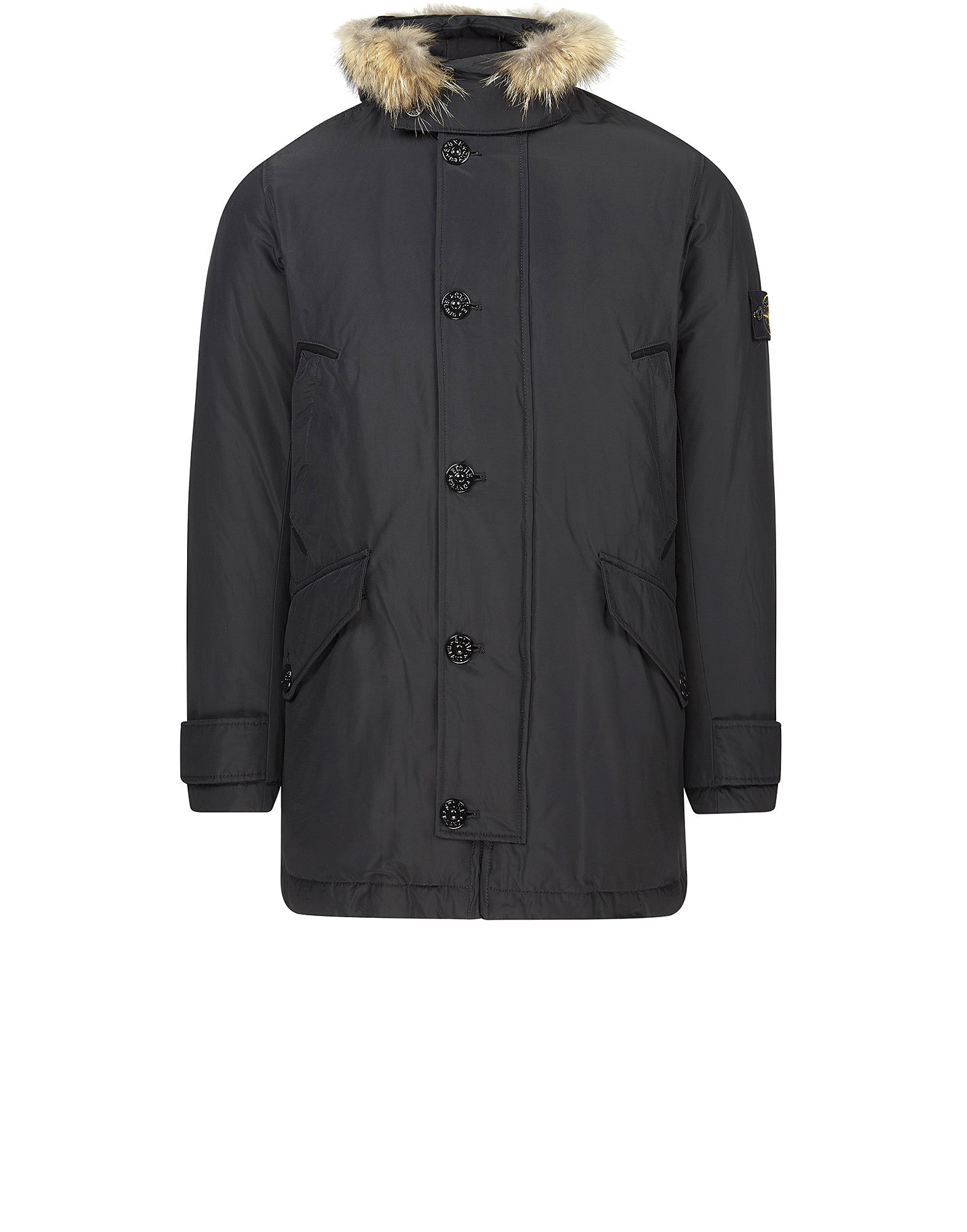 41926 MICRO REPS DOWN Parka in Grey