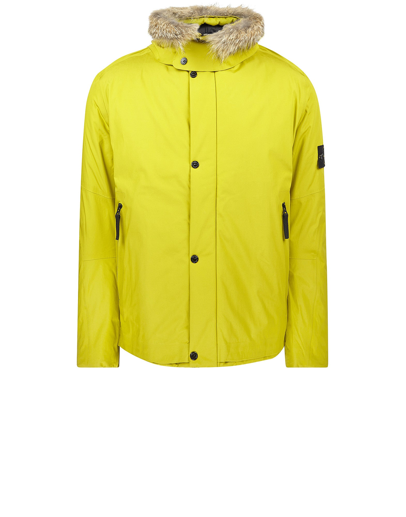 42025 WATER REPELLENT SUPIMA COTTON WITH PRIMALOFT® INSULATION TECHNOLOGY Jacket in Yellow