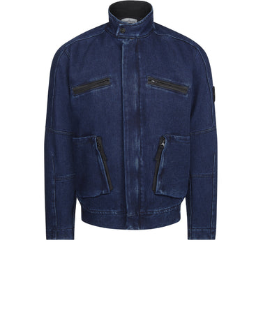 42234 POLYPROPYLENE DENIM JACKET IN BLUE