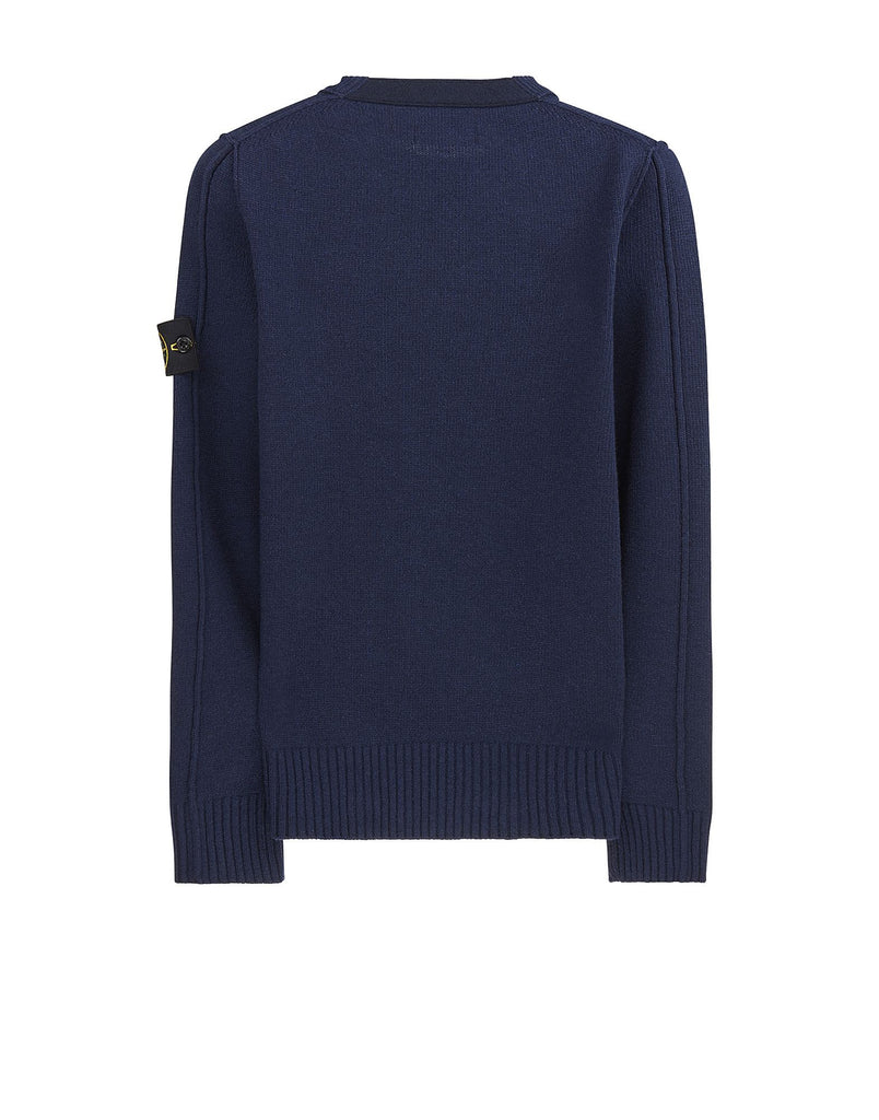 50AA3 Crewneck Knit in Navy Blue