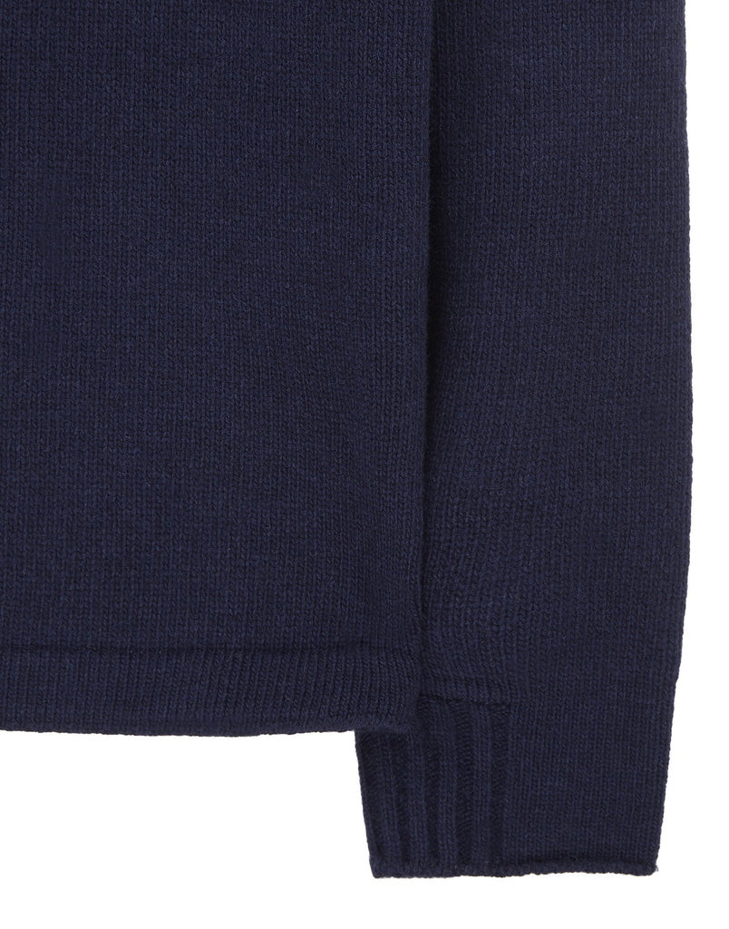 539A3 Wool Knit in Navy Blue