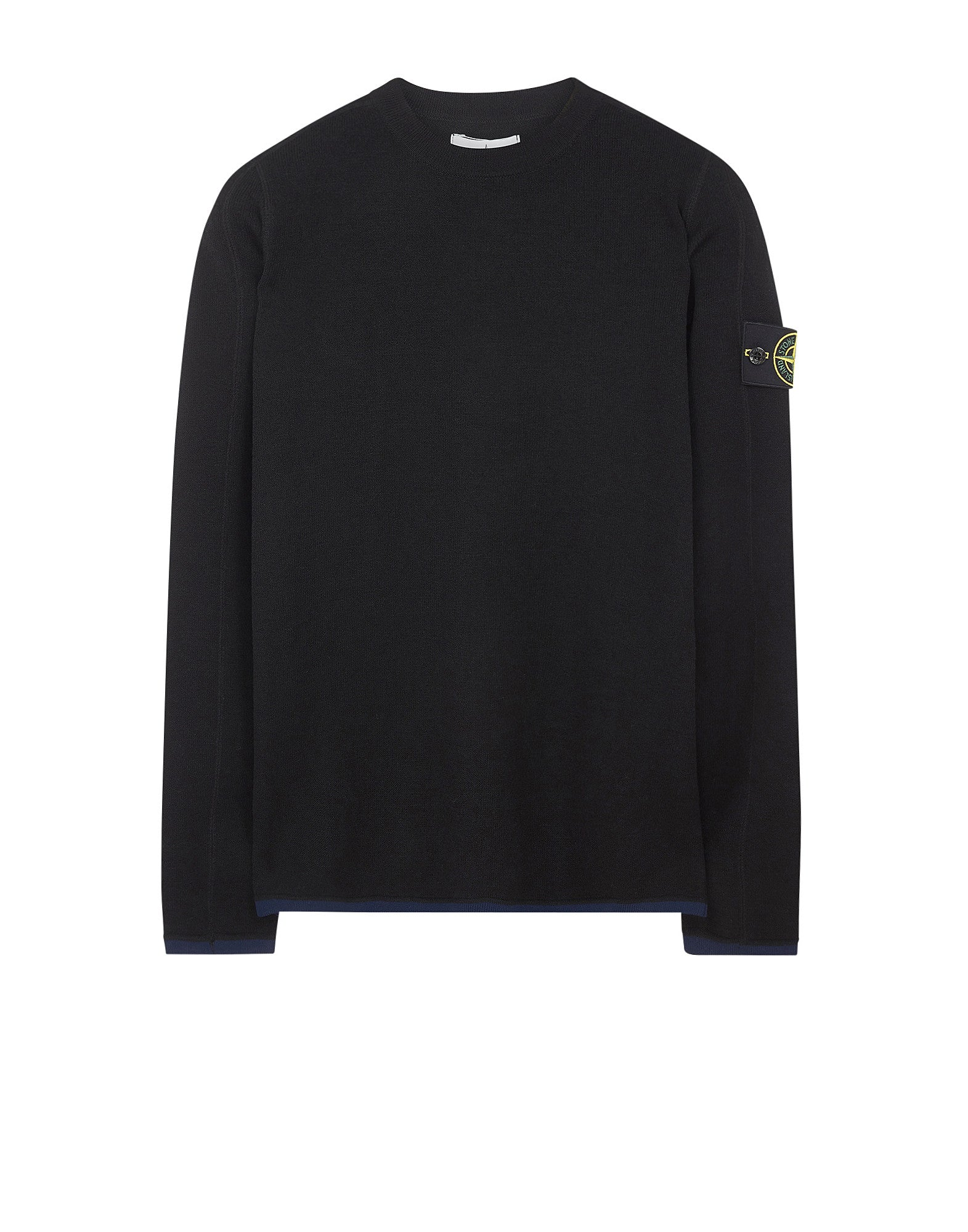 542A1 Crewneck Wool Knit in Black