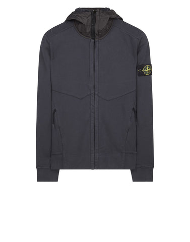 61421 Fleece Jacket in Grey