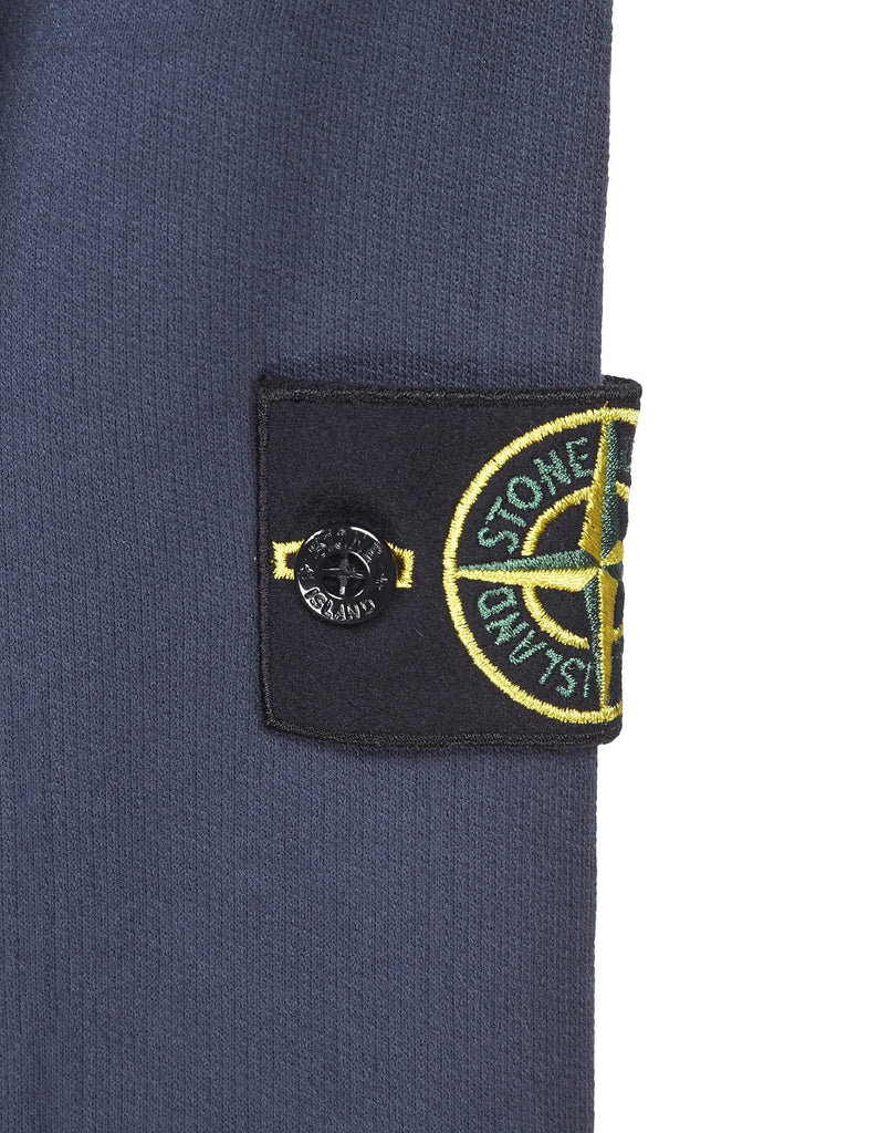618J3 STONE ISLAND HOUSE CHECK Sweatshirt in Blue