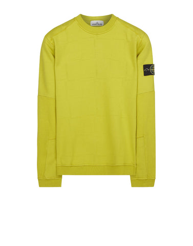 618J3 STONE ISLAND HOUSE CHECK Sweatshirt in Green