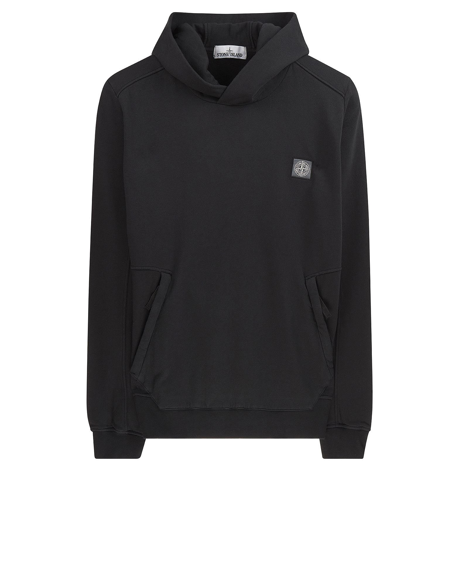 64651 Hooded sweatshirt in Black