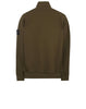 64820 Full Zip Sweatshirt in Khaki
