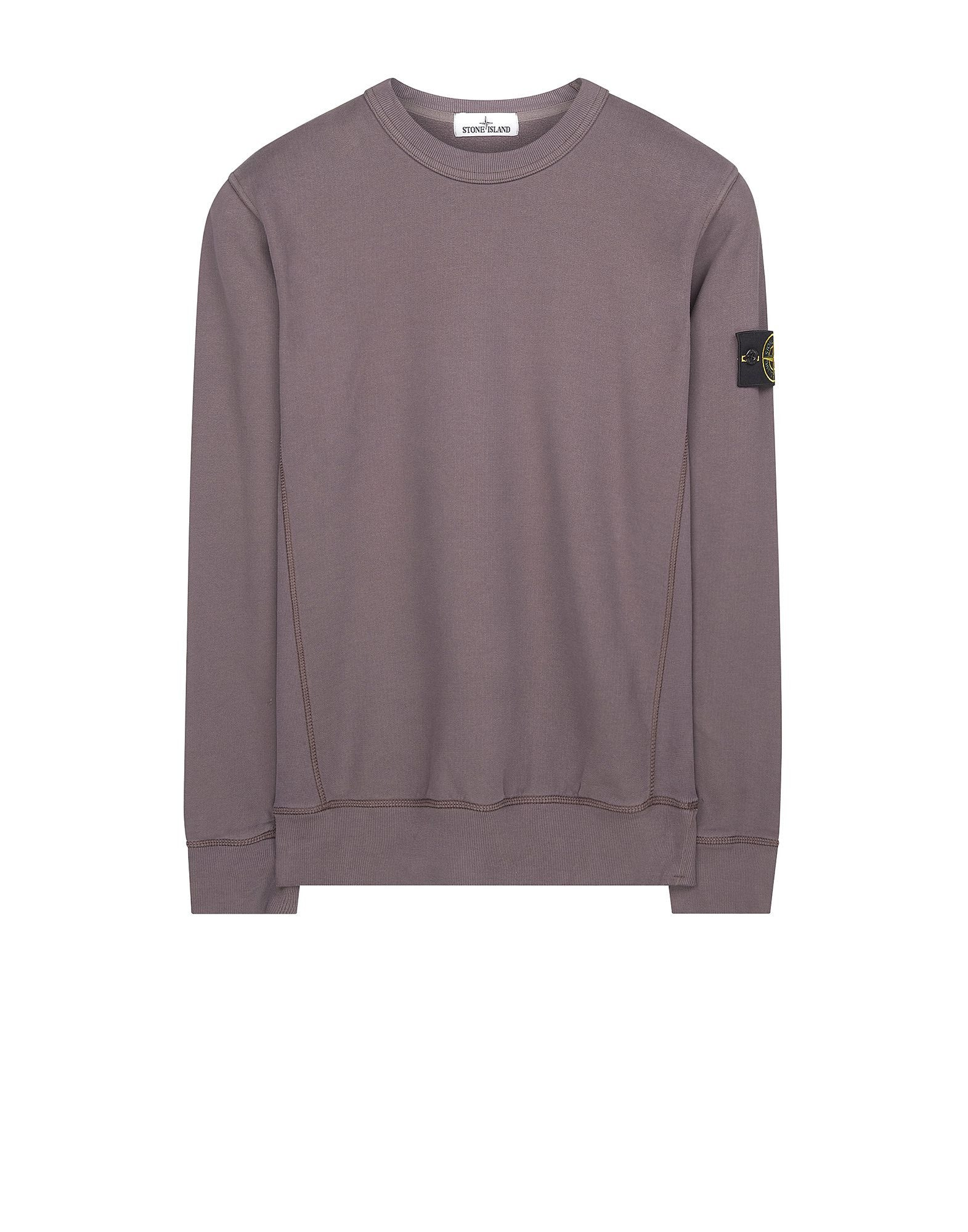 65320 Garment-Dyed Sweatshirt in Purple
