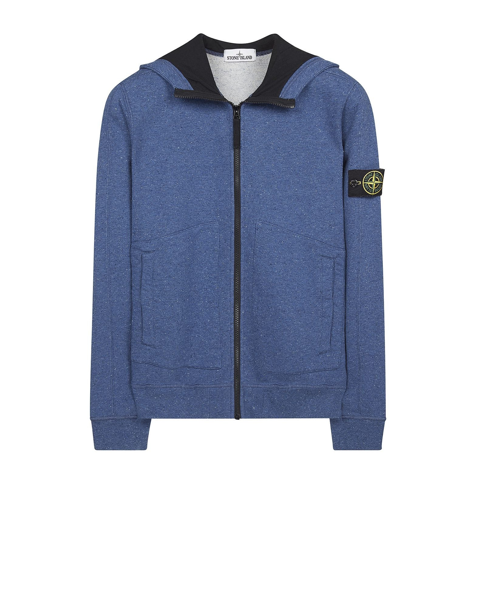65555 Hooded Blouson in Blue