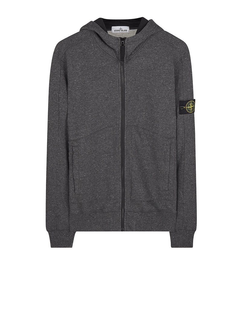 65555 Hooded Blouson in Charcoal