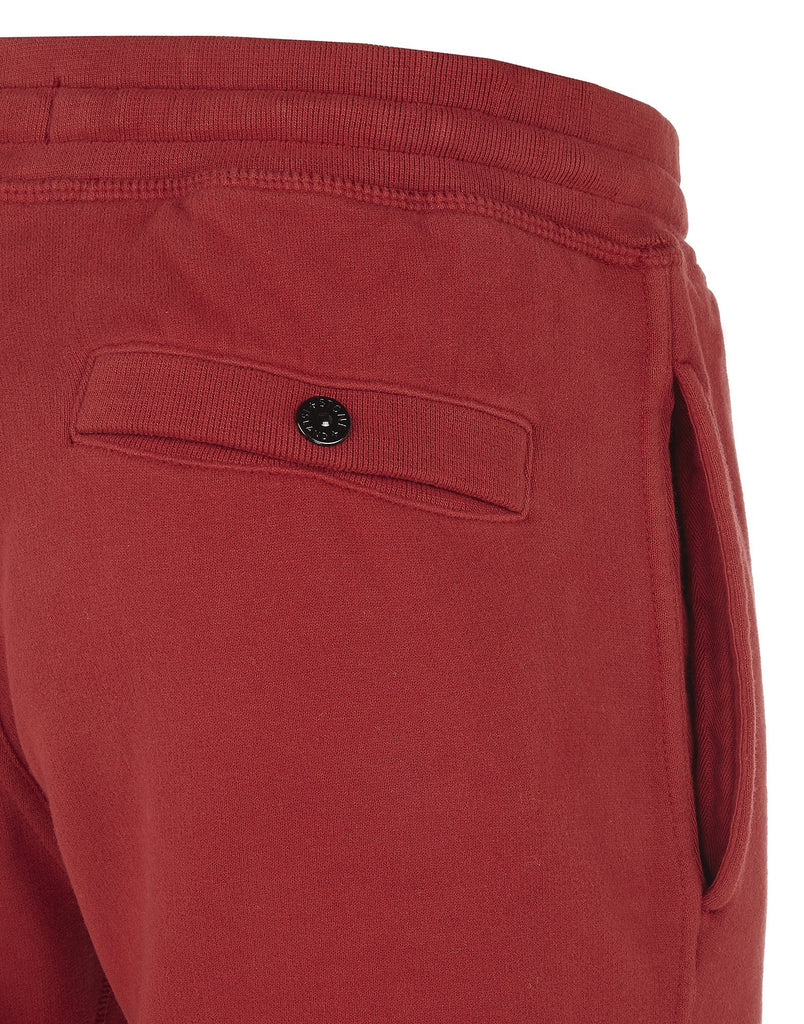 66620 Brushed Cotton Fleece Sweatpants in Red