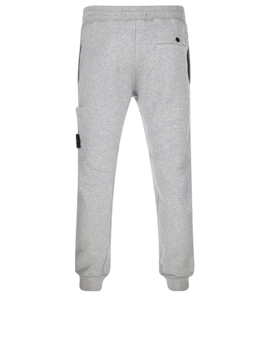 66620 Brushed Cotton Fleece Sweatpants in Grey