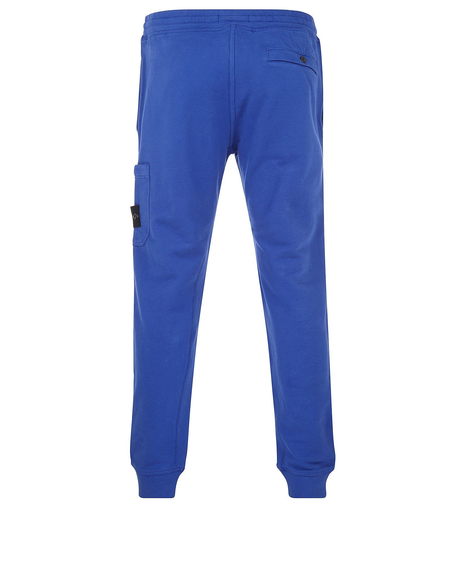 66620 Brushed Cotton Fleece Sweatpants in Blue
