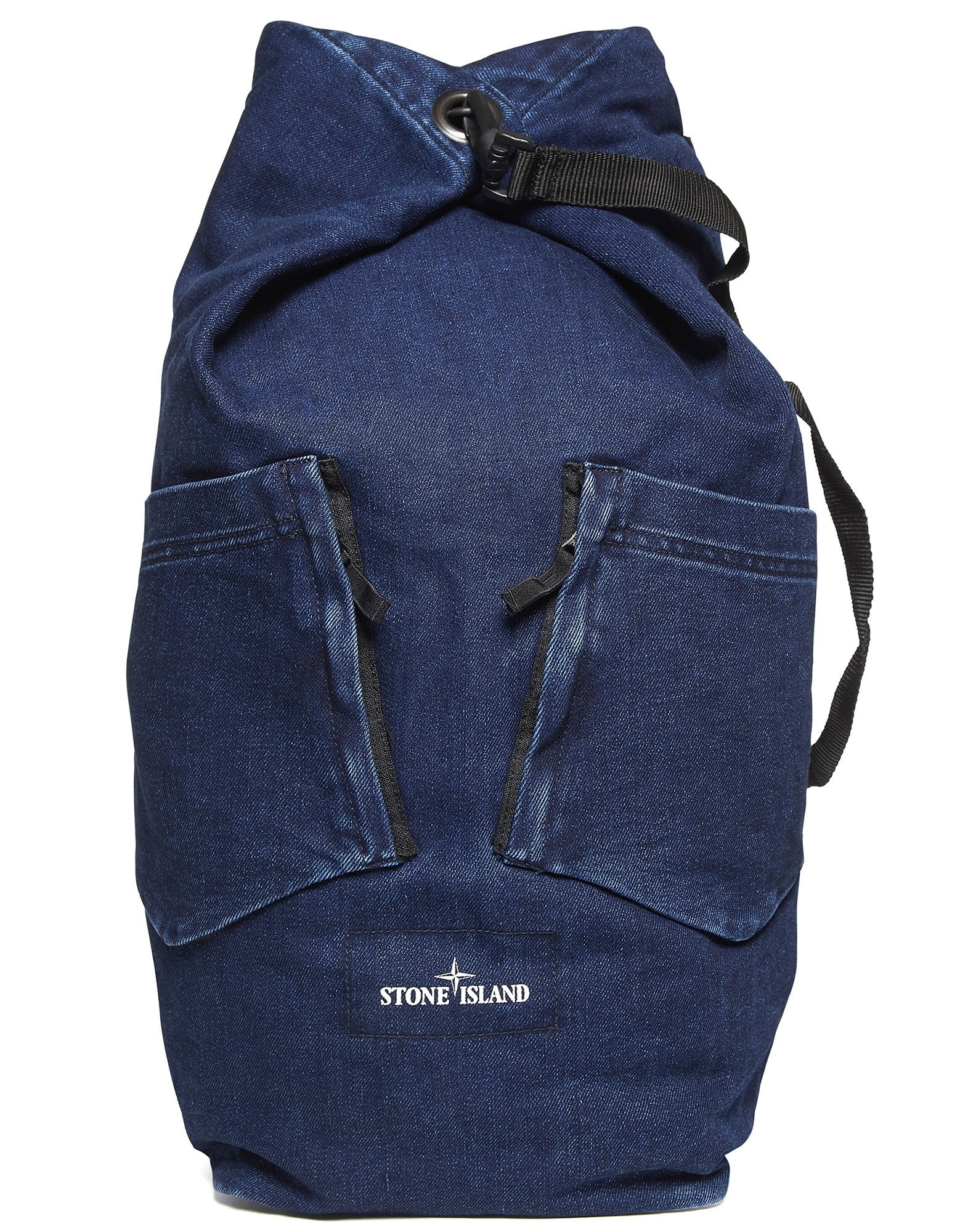 91934 POLYPROPYLENE DENIM Bag in Blue