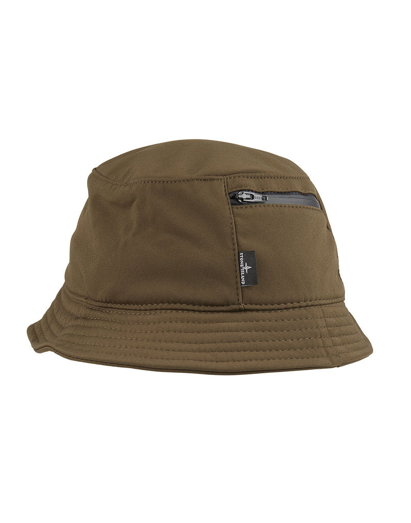 99279 SOFT SHELL-R Bucket Hat in Khaki
