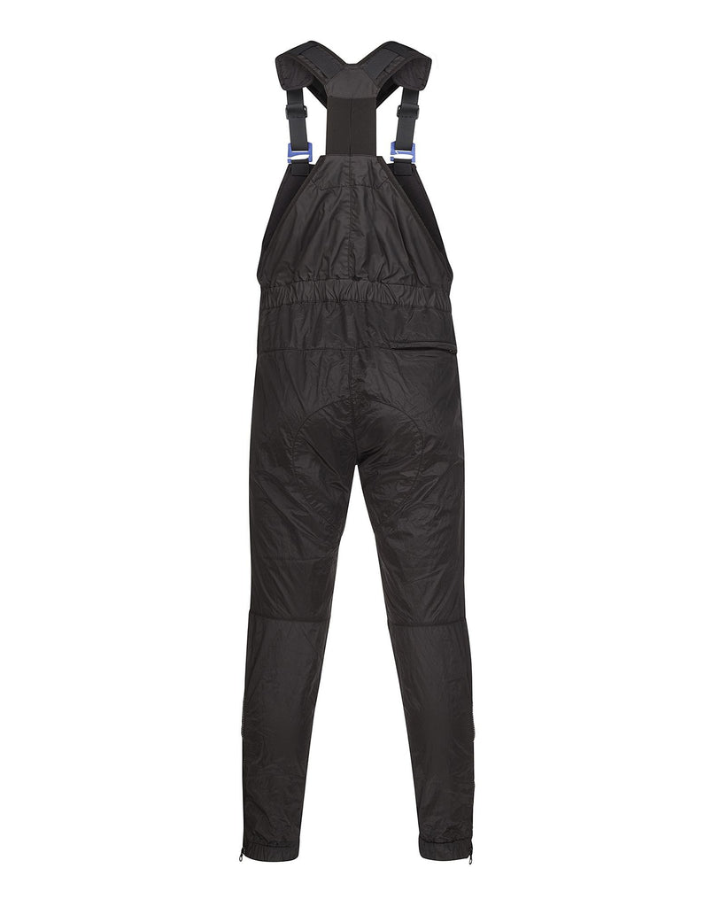 F0211 MUSSOLA GOMMATA/NYLON METAL Dungarees in Black