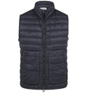 G0724 GARMENT DYED DOWN 26GR X SQM-NY _ PACKABLE Jacket in Navy Blue