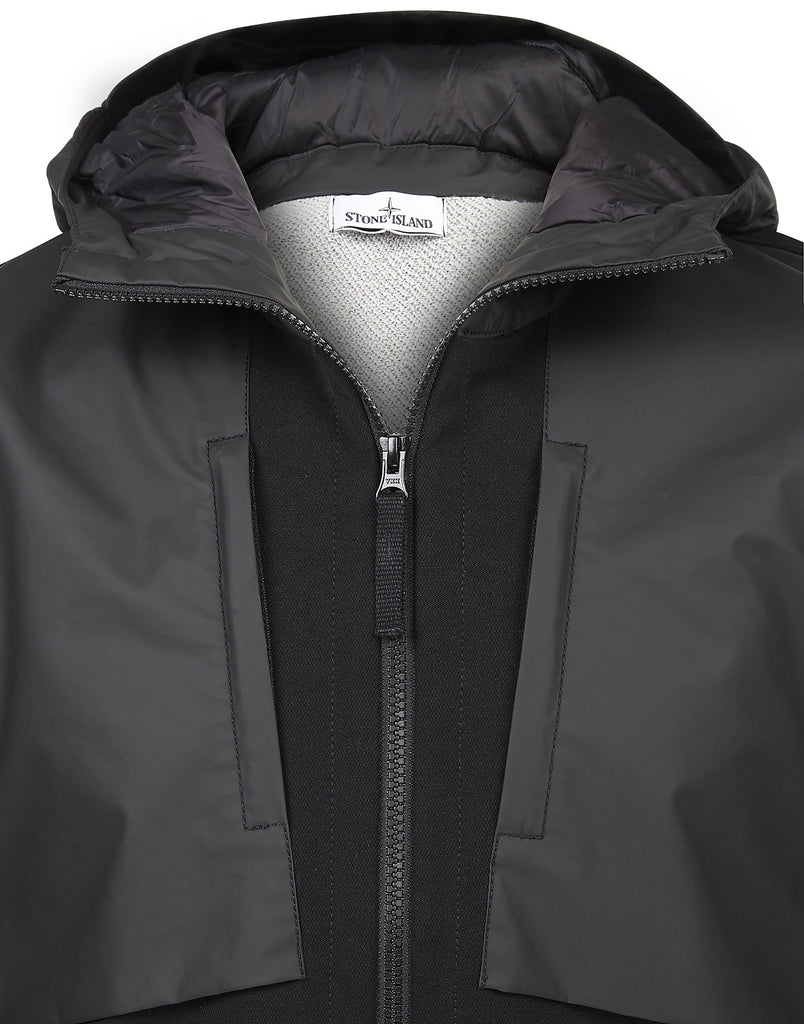 Q0128 SOFT SHELL-R TERRY Jacket in Black