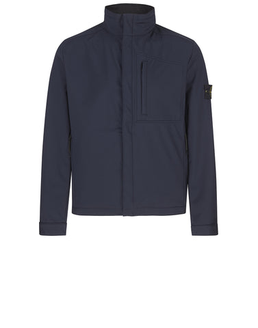 Q0522 SOFT SHELL-R Jacket in Blue