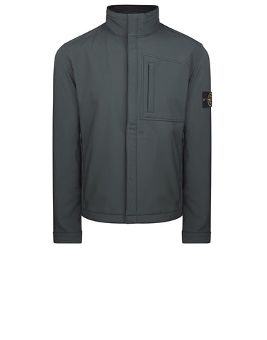 Q0522 SOFT SHELL-R Jacket in Green