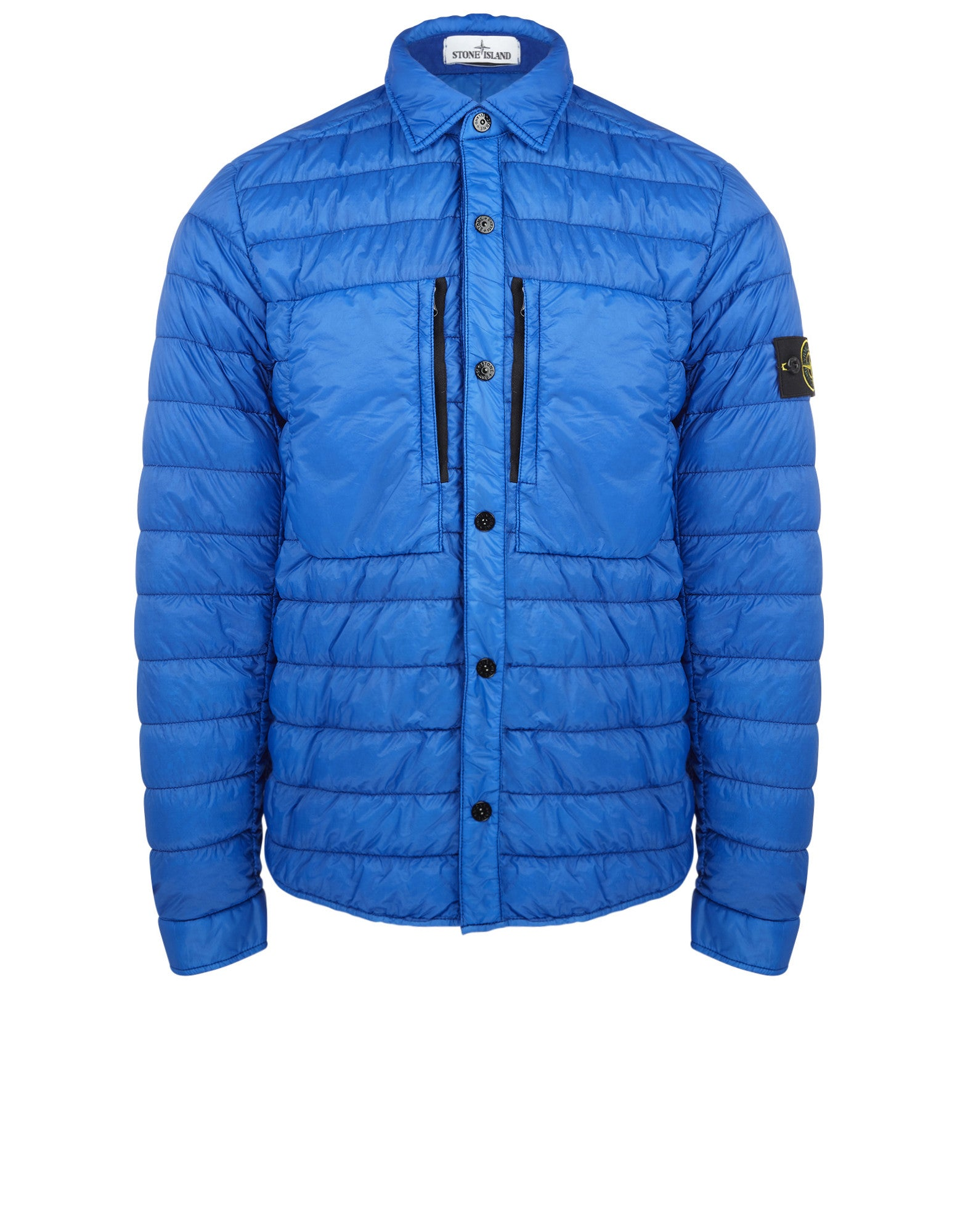 Q0724 GARMENT DYED DOWN 26GR X SQM-NY Jacket in Blue