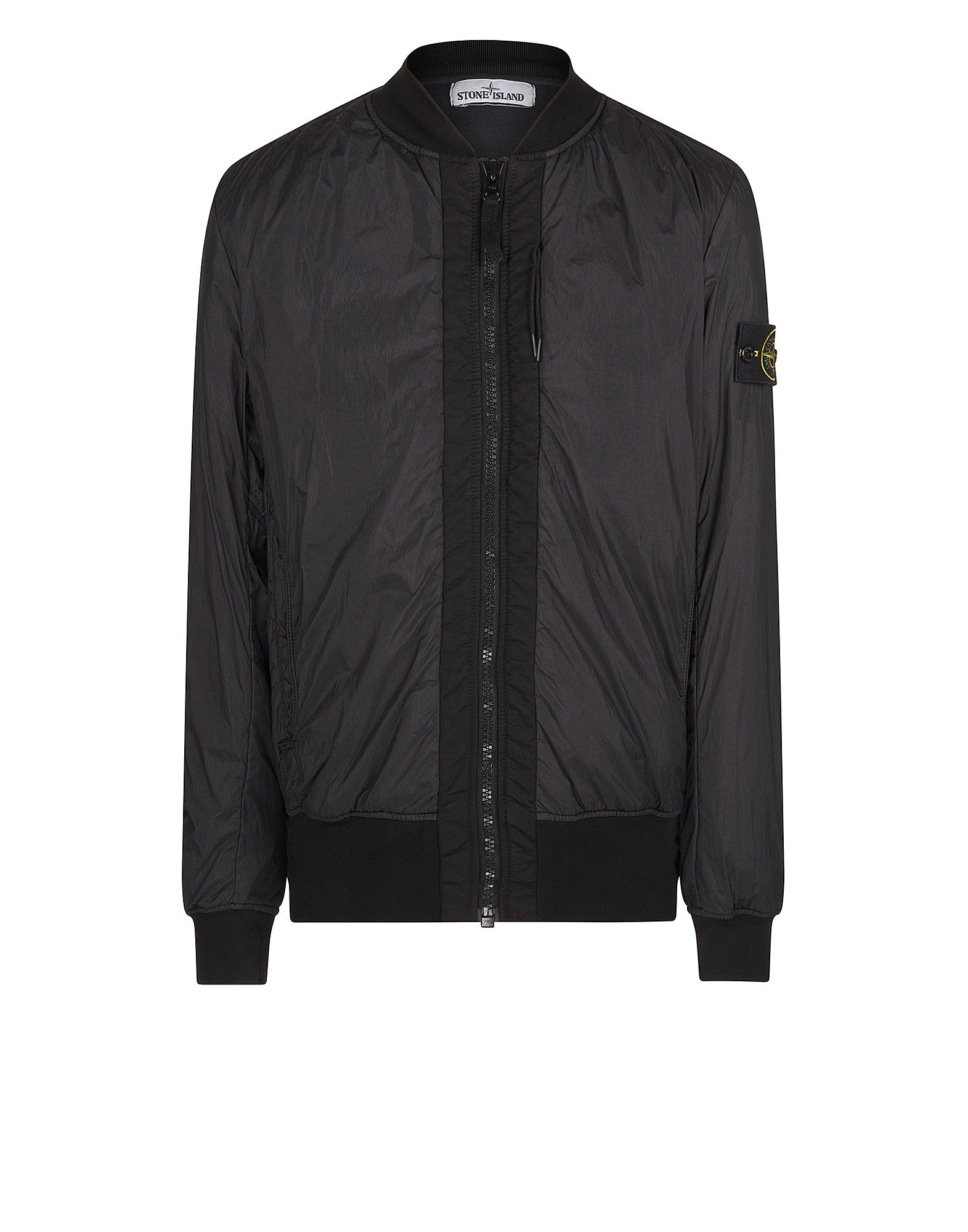 Q0923 Bomber in Charcoal