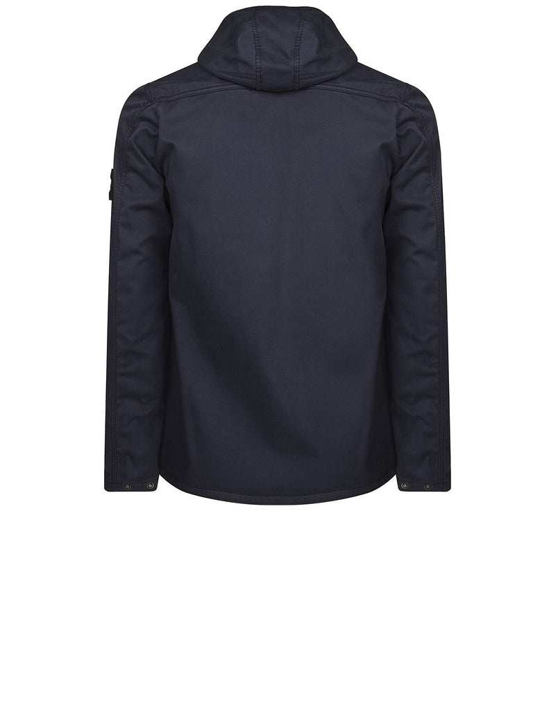 Q1331 RASO GOMMATO FLOCK Jacket in Blue