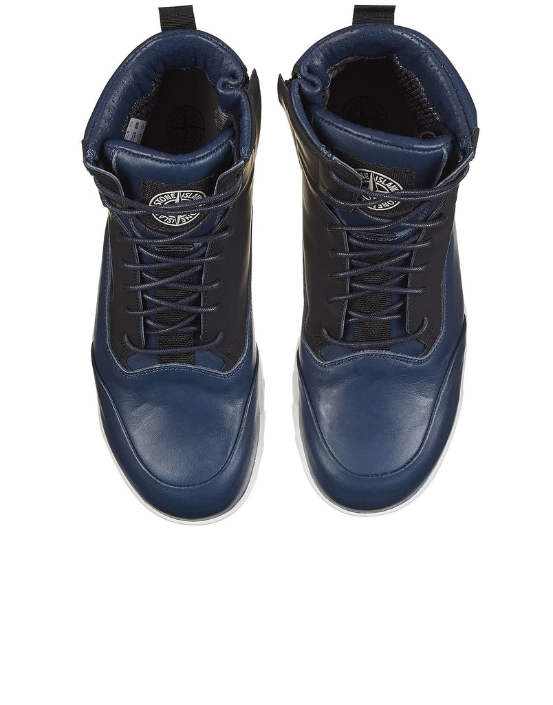 S0366 Waterproof Combat Boot in Blue